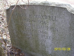 Elizabeth Bessie <i>Dauphin</i> Maxwell