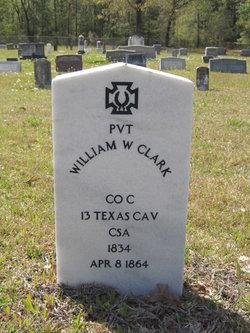 Pvt William W Clark