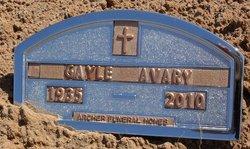Norma Gayle Gayle <i>Avary</i> Avary