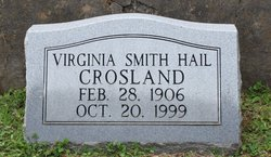 Virginia Smith <i>Hail</i> Crosland