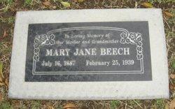 Mary Jane <i>Turner</i> Beech