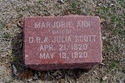 Marjorie Ann Scott