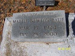 Mattie <i>Newton</i> Batie