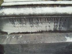 Edith M Dewey