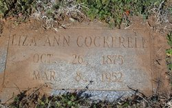 Liza Ann <i>Lamond</i> Cockerell