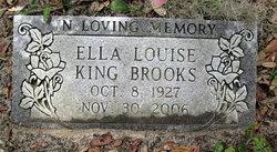 Ella Louise <i>King</i> Brooks