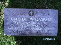 George W Caspari