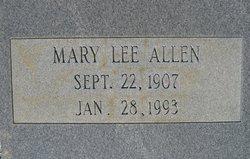 Mary Lee <i>Gratham</i> Allen