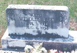 Lee Ollie <i>Hayes</i> Burt