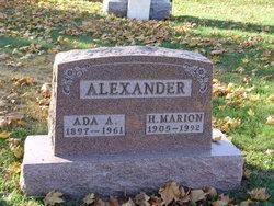 H. Marion Alexander
