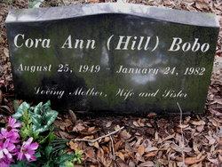 Cora Ann Elizabeth <i>Hill</i> Bobo