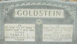 Rebecca Diana <i>Cantor</i> Goldstein