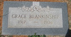 Grace Marjorie <i>Armstrong</i> Blankinship