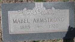 Mabel <i>Burgeson</i> Armstrong