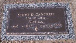 Steve D Cantrell
