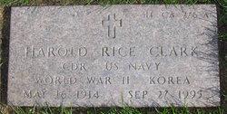 Harold Rice Clark
