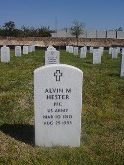 Alvin M Hester