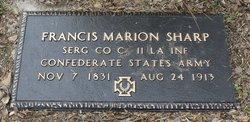 Francis Marion Frank Sharp