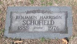 Benjamin Harrison Harry Schofield