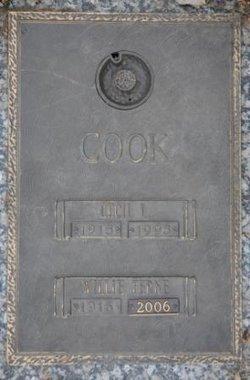 Willie Ferne <i>Pruitt</i> Cook