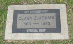 Clara Zella <i>Cruzan</i> Adams