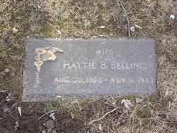 Hattie B. <i>Glaser</i> Anklam Belling