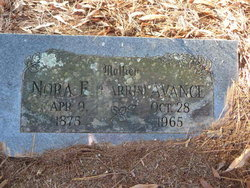 Nora E <i>Harris</i> Avance