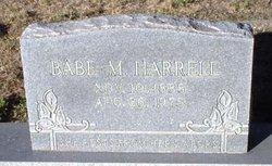 Babe <i>Mounts</i> Harrell
