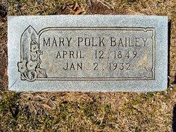 Mary <i>Polk</i> Carter