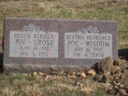 Bertha Florence <i>Poe</i> Wisdom