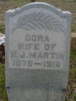 Dora <i>Shafer</i> Martin