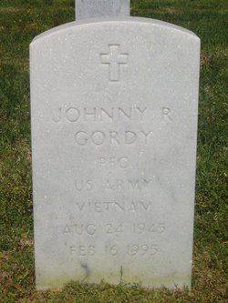 PFC Johnny Reid Gordy