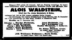 Alois Waldstein