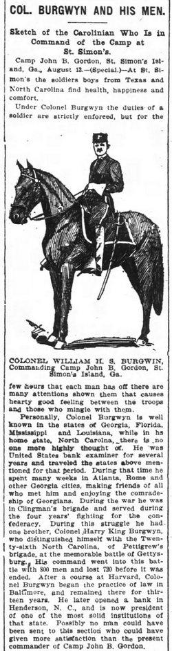 William Hyslop Sumner Burgwyn