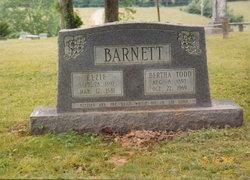 Bertha <i>Todd</i> Barnett