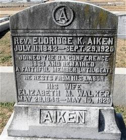 Elizabeth Melissa <i>Walker</i> Aiken