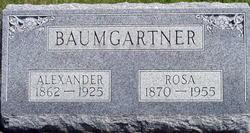 Rosina <i>Schneider</i> Baumgartner
