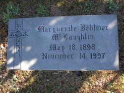 Marguerite <i>Behlmer</i> McLaughlin