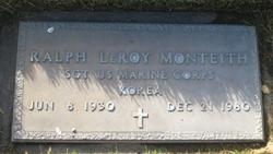 Ralph Leroy Monteith