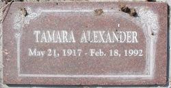 Tamara Alexander