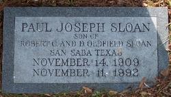 Paul Joseph Sloan