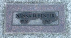 Nanna Hulda <i>Brown</i> Bender