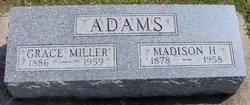 Grace <i>Miller</i> Adams