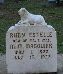 Ruby Estelle Magouirk