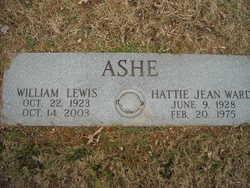 Hattie Jean <i>Ward</i> Ashe