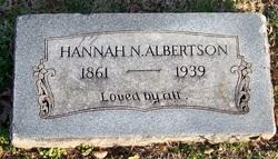 Hannah N Albertson