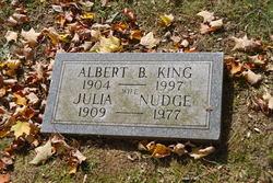 Julia <i>Nudge</i> King