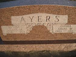 Oval M Ayers