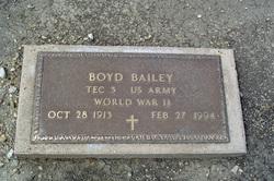 Boyd Buck Bailey
