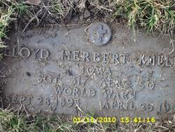 Sgt Lloyd Herbert Miller